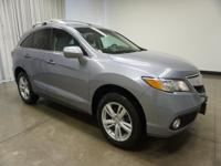 2015 Acura RDX Blue Technology Package 6-Speed