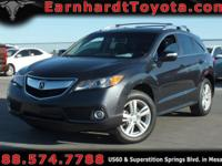 We are thrilled to offer you this *1-OWNER 2015 ACURA