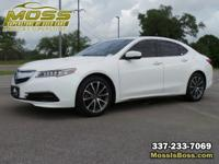 New Price! CARFAX One-Owner. Clean CARFAX. White 2015