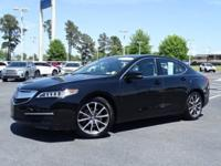 New Price! Clean CARFAX. Crystal Black Pearl 2015 Acura