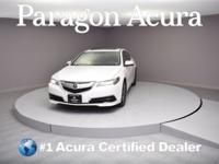 New Price! Certified. 2015 Acura TLX 3.5L V6 CARFAX