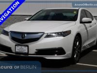 2015 Acura TLX 3.5L V6 Bellanova White Pearl New Price!