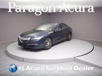 New Price! Certified. 2015 Acura TLX 2.4L Priced below
