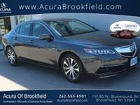 Acura Certified CARFAX 1-Owner Leather Seats,