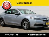 CARFAX One-Owner. 2015 Acura TLX 2.4L FWD 8-Speed