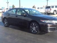 Black 2015 Acura TLX 2.4L FWD 8-Speed Dual-Clutch 2.4L