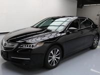 2015 Acura TLX with Leatherette Seats,Power Front