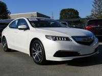 CarFax 1-Owner, LOW MILES, This 2015 Acura TLX 2.4L