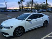 Certified.  2015 Acura TLX 3.5L V6 31/21 Highway/City