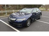 2015 Acura TLX, Clean One Owner Carfax! Power Sunroof,