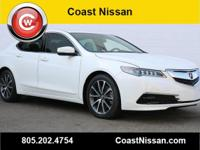 CARFAX One-Owner. 2015 Acura TLX 3.5L V6 FWD 9-Speed