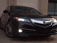 Feel right at home behind the wheel of this Acura TLX.