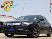 2015 Acura TLX w/Technology Package Crystal Black Pearl
