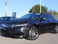 2015 Acura TLX V6 Tech, Certified Pre-Owned, ONLY 17034