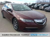Acura TLX  Clean CARFAX. CARFAX One-Owner. Odometer is