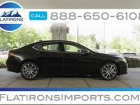Flatirons Imports is offering this 2015 Acura TLX 3.5L