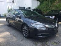 2015 Acura TLX V^ Tech in triple mint condition and