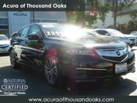 Options:  2015 Acura Tlx V6 Tech|Crystal Black
