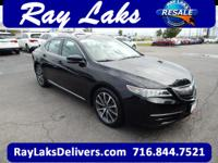 CARFAX 1-Owner. Crystal Black Pearl exterior and Ebony