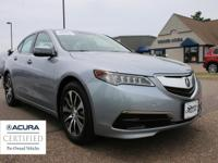Outstanding design defines the 2015 Acura TLX! It'll