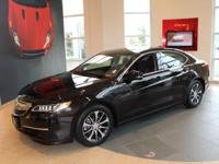 TLX with Technology package in Black Copper Pearl with