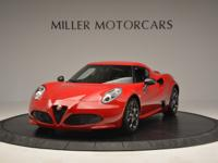 This is a Alfa Romeo, 4C for sale by Miller Motorcars.
