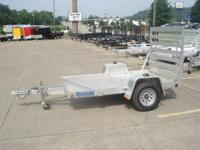 2015 Aluma 5X8 In Stock Utility Trailers Landscape