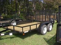 """2015 American LS12TA LS12TA 6'10""""X 12' tandem axle"""