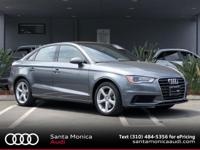 Certified. 2015 Audi A3 1.8T Premium Monsoon Gray