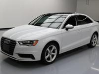 2015 Audi A3 with 1.8L Turbocharged I4 Engine,Automatic