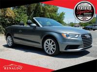 2015 Audi A3 1.8T Premium Convertible **ONE OWNER,