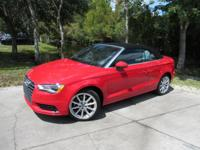 This 2015 Audi A3 Cabriolet 2dr 2dr Cabriolet FWD 1.8T