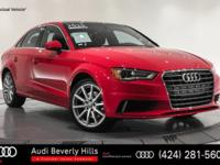 This 2015 Audi A3 4dr Sdn FWD 1.8T Premium Plus is