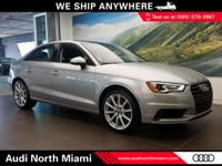 This 2015 Audi A3 comes with a CARFAX Buyback