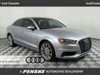 ONE OWNER!!!, A3 1.8T Premium, Audi Certified pre-owned