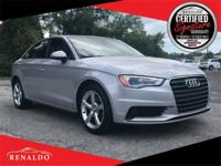 New Price! 2015 Audi A3 1.8T Premium **SUNROOF,