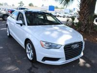 A3 Audi 2015 1.8T Premium CARFAX One-Owner. New Price!