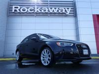 Boasts 33 Highway MPG and 24 City MPG! This Audi A3 has