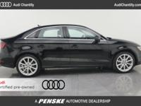 2015 AUDI A3 2.0T 1 OWNER CARFAX CERTIFIED PREOWNED