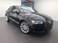 CARFAX One-Owner. Certified. Brilliant Black 2015 Audi