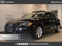 Audi Certified, Serviced here, Non-Smoker vehicle,