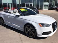 LOW MILES, CONVERTIBLE, QUATTRO ALL WHEEL DRIVE,