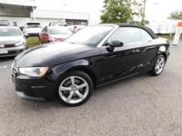 This 2015 Audi A3 2.0T Premium is offered to you for