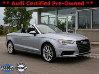 2015 Audi A3 2.0T Premium Plus Convertible! ** ACCIDENT