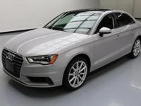 This awesome 2015 Audi A3 4x4 comes loaded with the