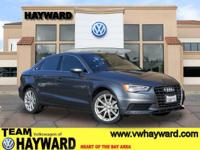 Options:  2015 Audi A3 2.0T Premium Plus Sedan|Gray