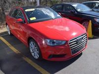 Options:  2015 Audi A3 2.0T Quattro Premium|Clean