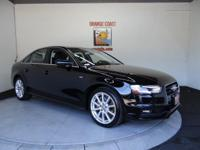 Options:  2015 Audi A4 Premium|Brilliant Black/|V4 2.0