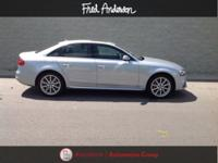 CARFAX One-Owner. Cuvee Silver Metallic 2015 Audi A4