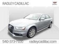 New Price! CARFAX One-Owner. 2015 Audi A4 2.0T Premium